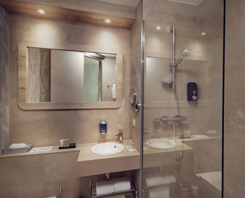 Inntel Hotels Amsterdam Centre City Double Bathroom